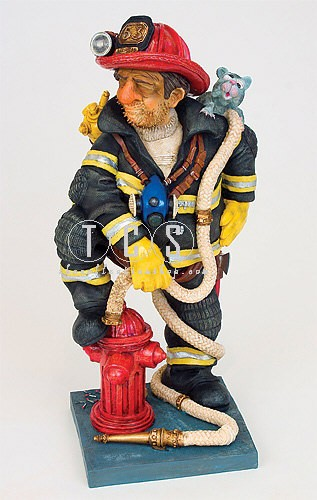 Guillermo Forchino The Fire Fighter 1/2 Scale