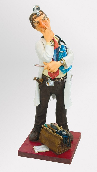 Guillermo Forchino Doctor - Le Medecin 1/2 Scale