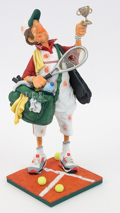 Guillermo Forchino Tennis Player 1/2 Scale