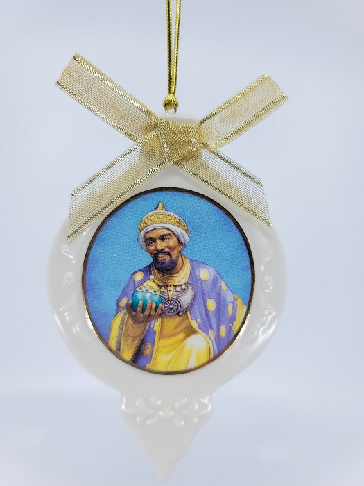 Ebony VisionsWise Man With Frankincense Ornament