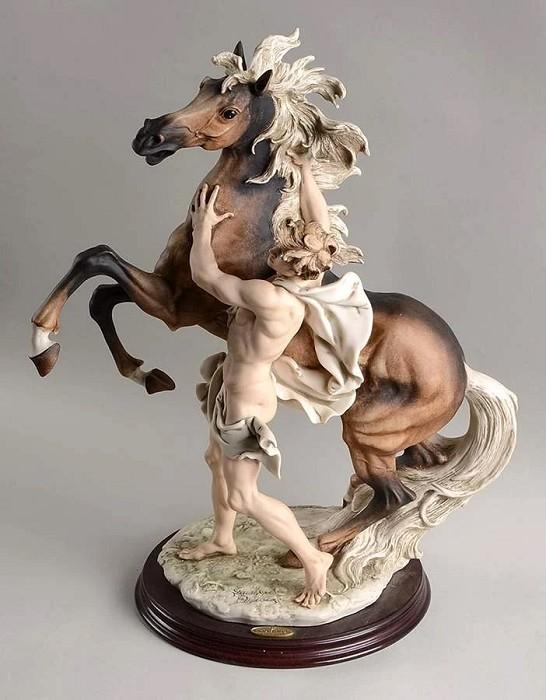 Giuseppe ArmaniFreedom - Man and Horse