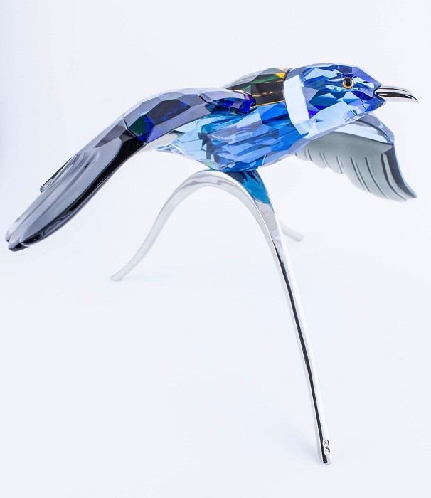 Swarovski CrystalBlue Roller, Paradise Bird, Turquoise