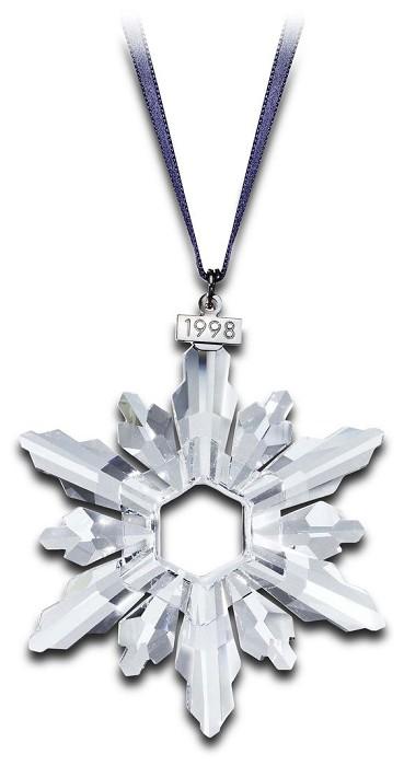 Swarovski Crystal1998 Swarovski Snowflake Ornament