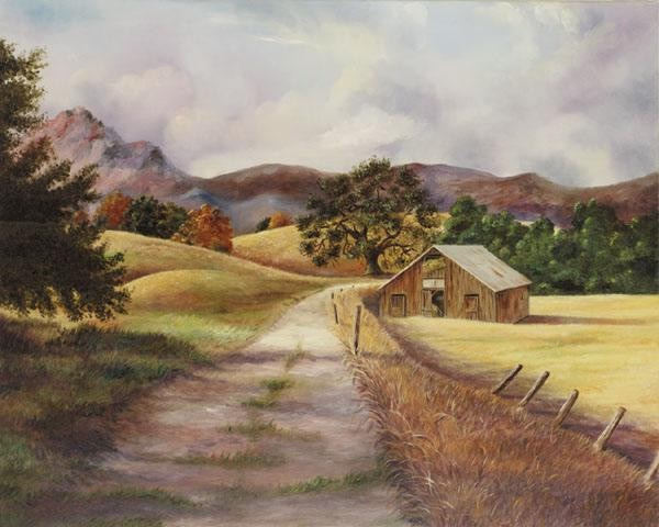 GamboaCalifornia Landscape I Giclee