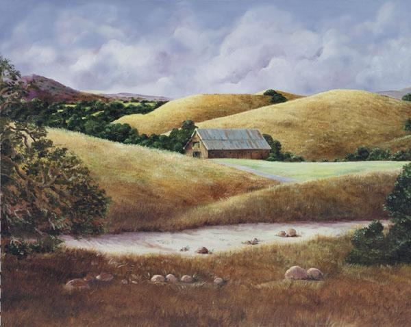 GamboaCalifornia Landscape II Giclee