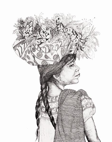 GamboaFlower Girl From San Juan