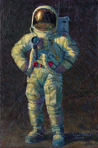 Alan Bean Feelin Fine Canvas