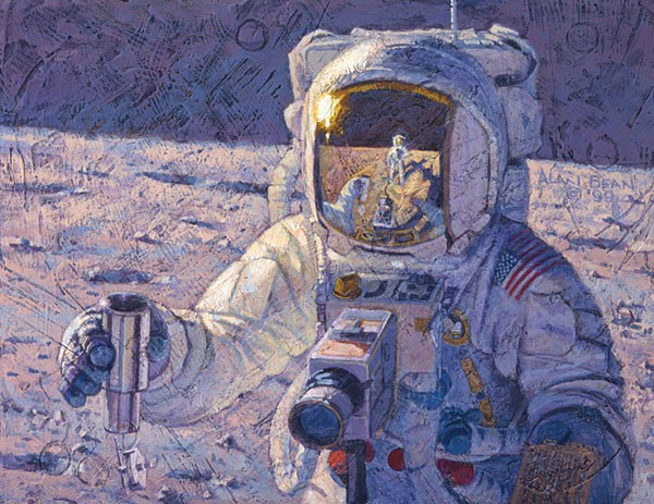 Alan Bean A New Frontier Canvas