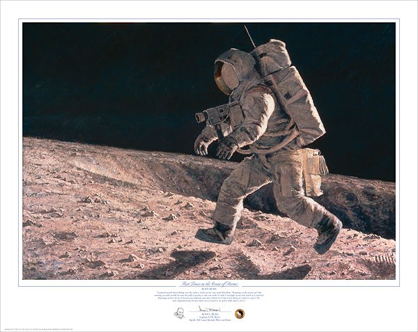 Alan Bean Fast Times on the Ocean of Storms Print