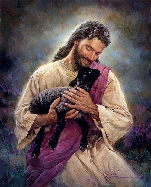 Nathan Greene The Lamb Of God Studio Canvas Giclée