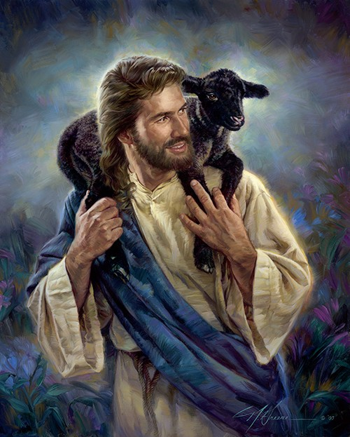 Nathan Greene The Good Shepherd Studio Canvas Giclée