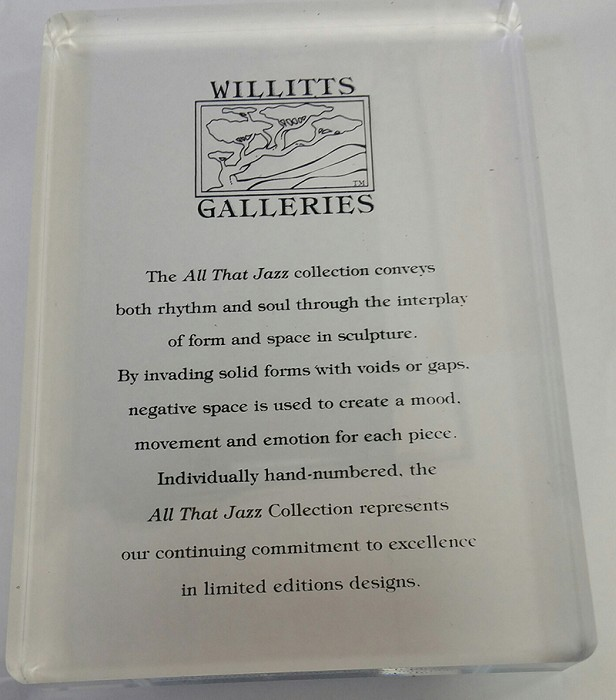 Willitts DesignsOfficial Acrylic Plaque