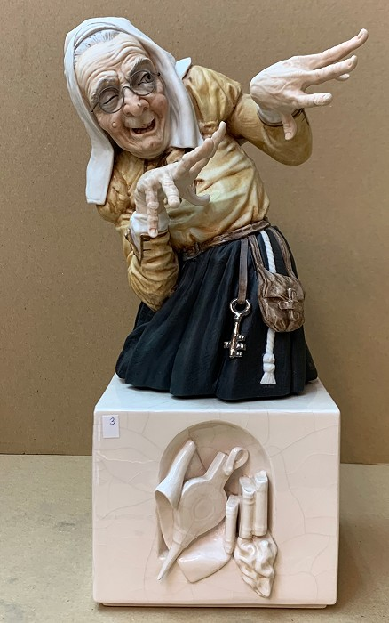 AlgoraWitches - Brujas With GlassesPorcelain Figurine