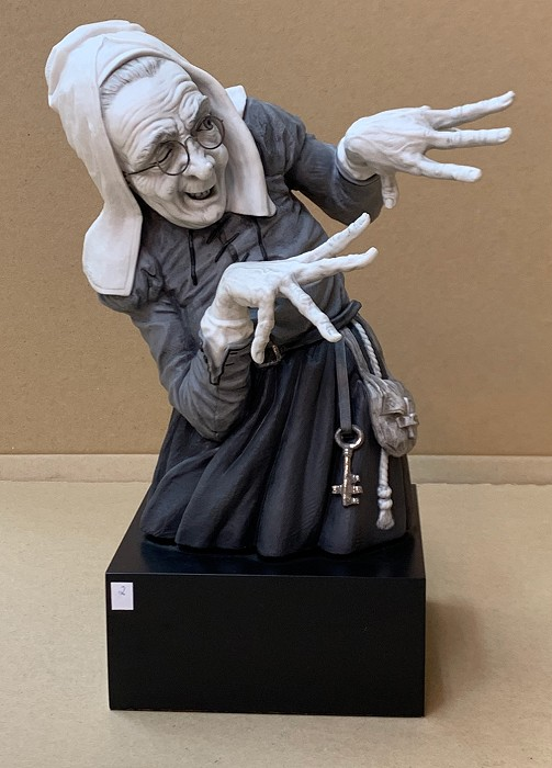 Algora Witches - Brujas With Glasses Porcelain Figurine