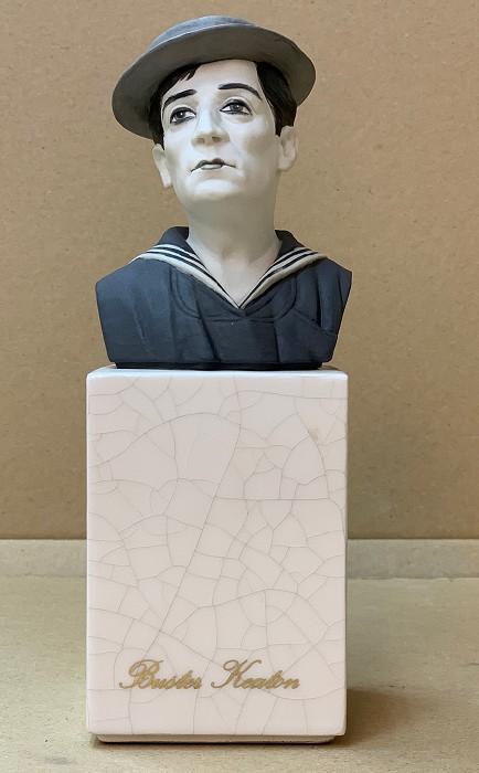 AlgoraBuster KeatonPorcelain Figurine