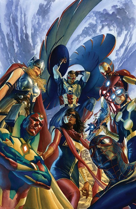 Alex Ross All New All Different Avengers #1 Mini Canvas