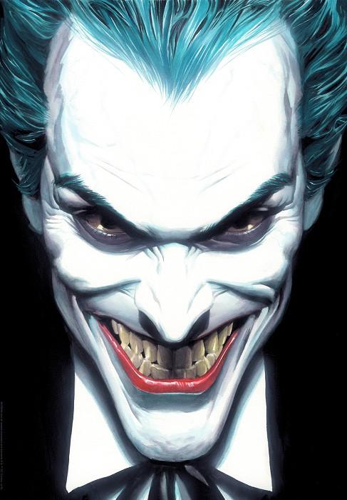 Alex RossPortraits of Villainy: JokerGiclee On Canvas Artist Proof
