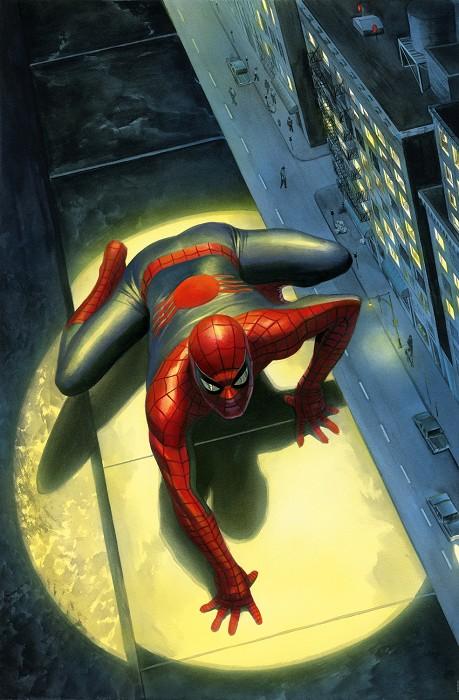 Alex RossSPECTACULAR SPIDER-MANGiclee On Canvas