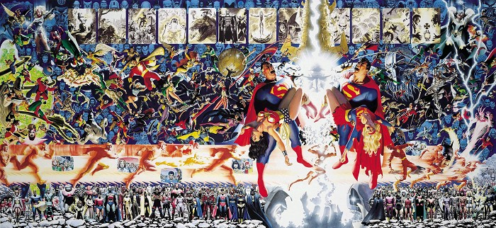 Alex Ross CRISIS Giclee On Canvas