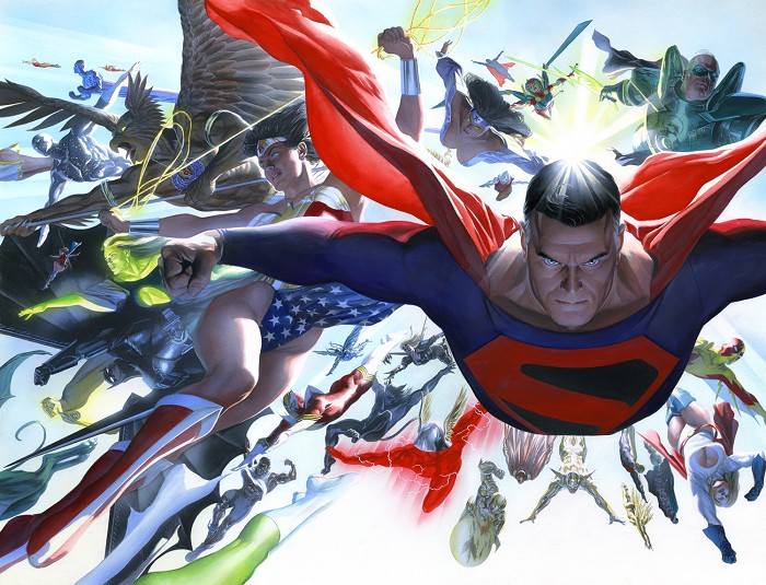 Alex Ross KINGDOM COME Absolute Lithograph