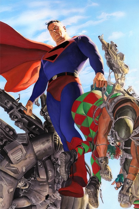 Alex Ross KINGDOM COME Superman Lithograph