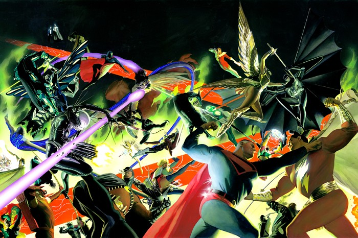 Alex Ross KINGDOM COME War Lithograph