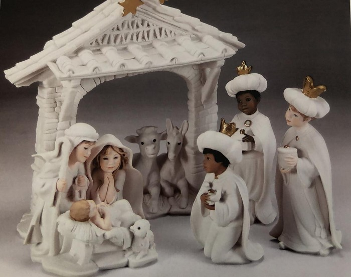 Giuseppe Armani Nativity Set Children