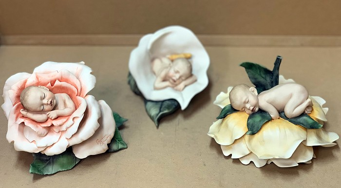 Giuseppe Armani Baby and Flower Set