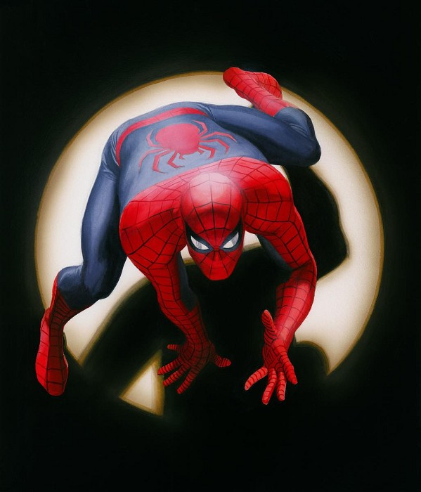 Alex Ross Spider-Man, Marvels Giclee On Canvas