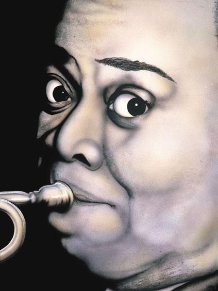 Terry Wilson Louis Armstrong Giclee