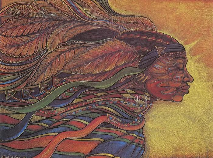 Charles BibbsAfrican Goddess Large