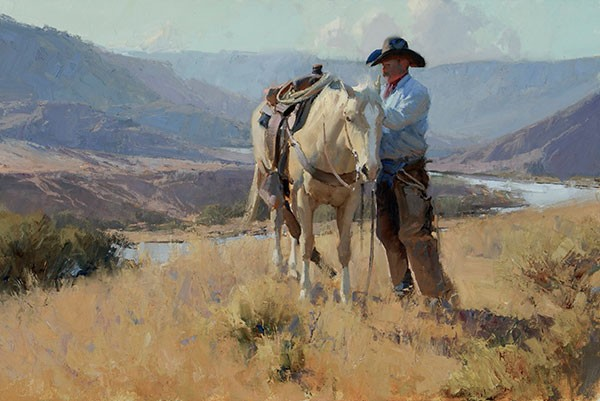 Bill AntonNew Mexico MorningGiclee On Canvas Artist Proof