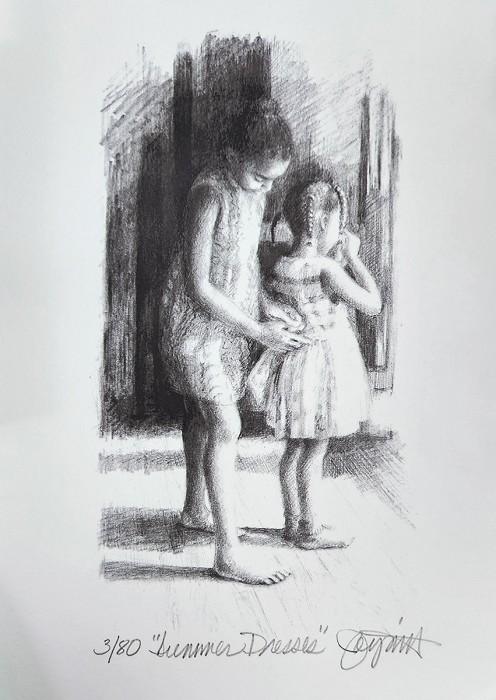 Brenda JoysmithSummer DressesGiclee On Paper Artist Proof