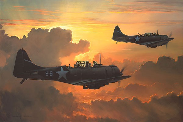 William Phillips Dauntless Against A Rising Sun Anniversary Edition Giclee On Canvas