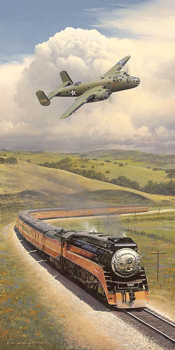 William Phillips Alameda Bound Giclee On Canvas