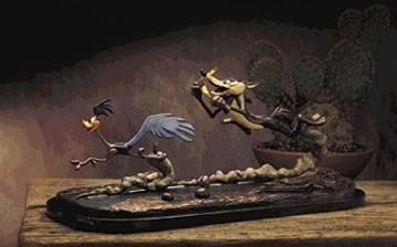 Chuck JonesFast And Furry-OusBronze Sculpture