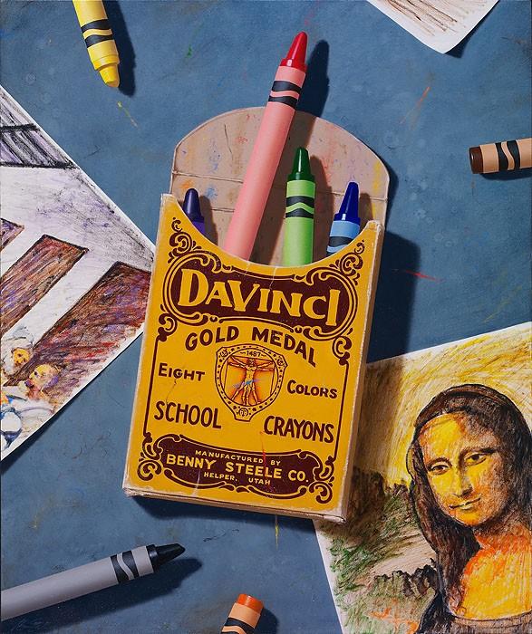 Ben SteeleDedicated to da VinciCanvas