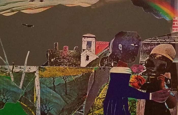 Romare BeardenCarolina Memory Color Screenprint On Paper