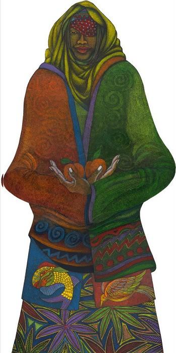 Charles BibbsThe Fruit BearerGiclee On Paper