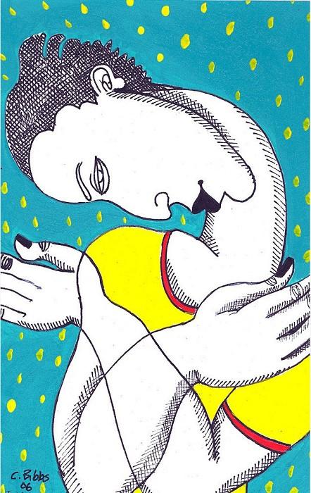 Charles BibbsI Love MeGiclee On Paper