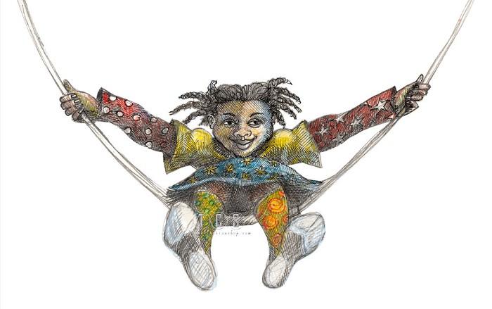 Charles BibbsSheridans Swing Artist Hand Enhanced Giclee