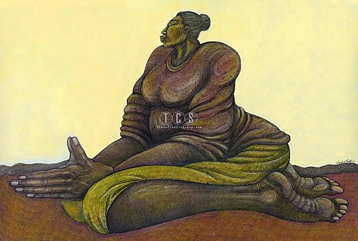 Charles BibbsSunday Morning Prayer - Canvas