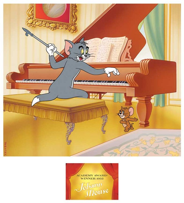 Hanna & Barbera Award Winning Series: Johann Mouse Hand-Painted Limited Edition Cel