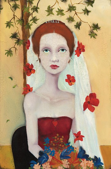 Cassandra BarneyShe Wanted Fame Fortune and Flowers TooCanvas