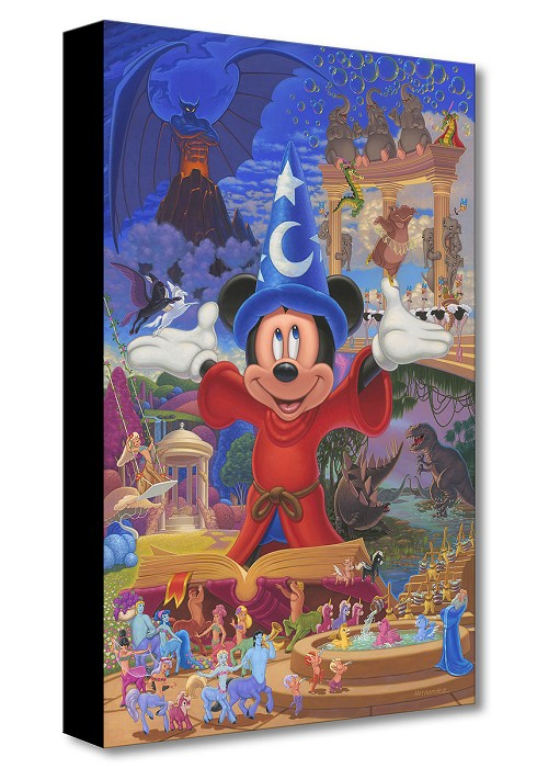 Manuel HernandezStory of Music and MagicGallery Wrapped Giclee On Canvas
