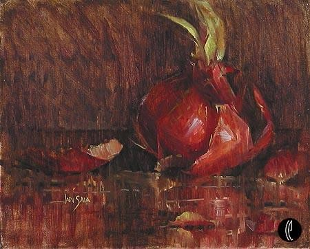 Jan Saia Red Onions