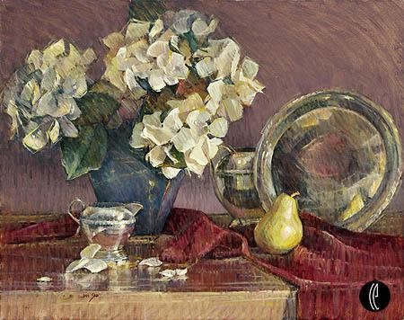 Jan Saia Hydrangea Reflections