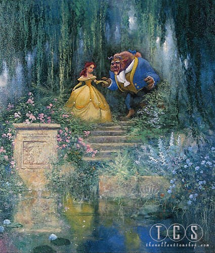 James Coleman For The Love Of Beauty Beauty And The Beast Giclee On Canvas