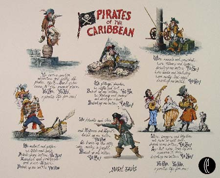 Marc Davis Pirate Doggerel