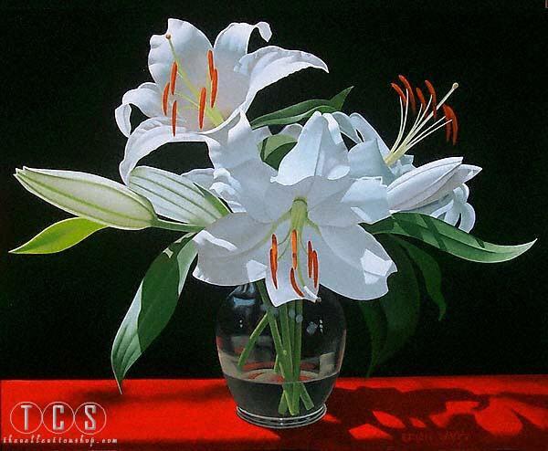 Brian DavisWhite Lilies In Soho